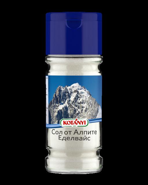 608410 Kotanyi Сол от Алпите Еделвайс B2b Glass L