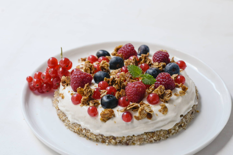 Raw Cake Veggy Sweet