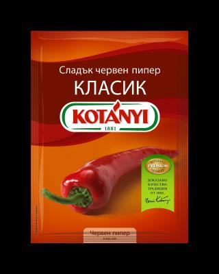192410 Kotanyi Сладък червен пипер КЛАСИК B2c Pouch