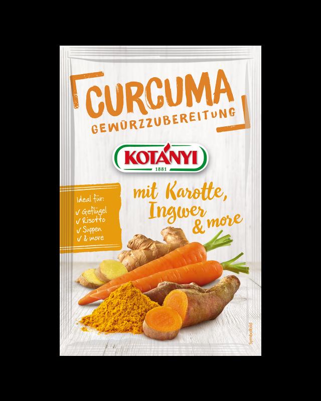 356501 Kotanyi Куркума с джинджифил и моркови B2c Pouch