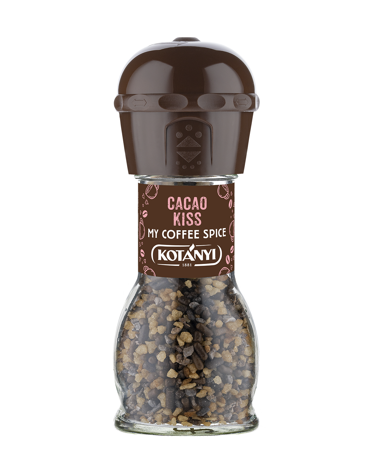 438010 Kotanyi Cacao Kiss B2c Mill Disposable