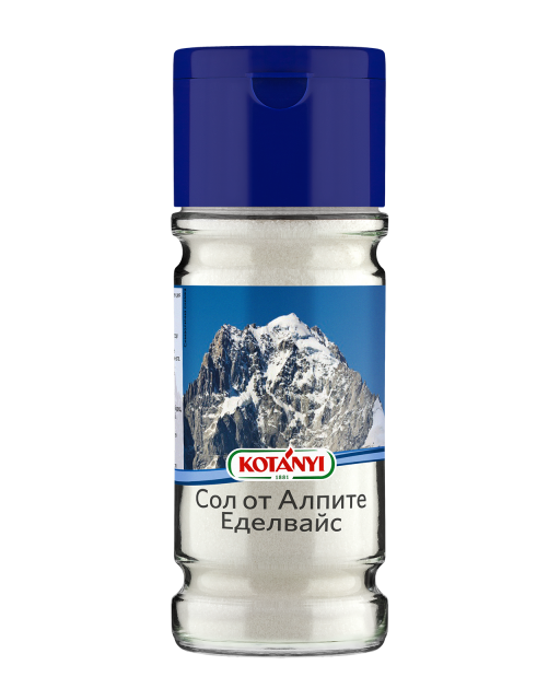 608410 Kotanyi Сол от Алпите Еделвайс B2c Glass L