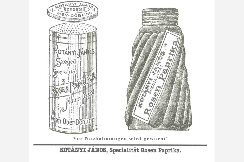 Солничка с червен пипер Kotányi от 1900 г.