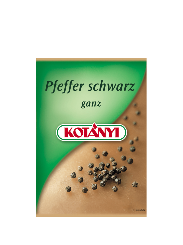 Пликче черен пипер Kotányi от началото на този век.