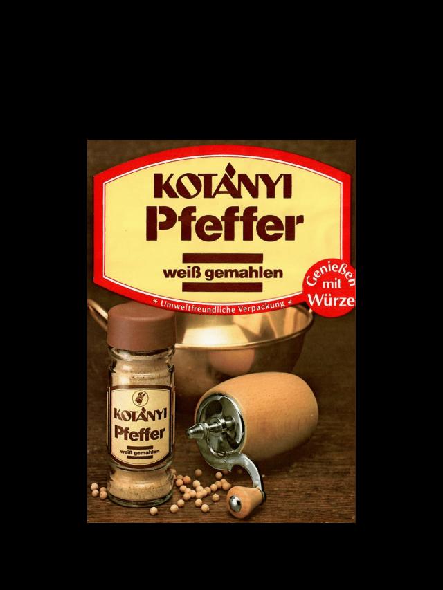 Пликче дафинови листа Kotányi от 90-те години на миналия век.