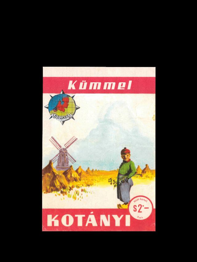 Пликче с кимион Kotányi от 1961 г.