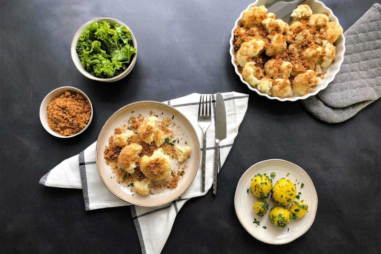 Cauliflower Breadcrumbs Website