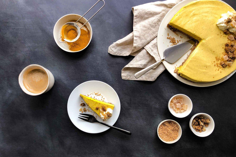 No Bake Golden Milk Cheesecake Website