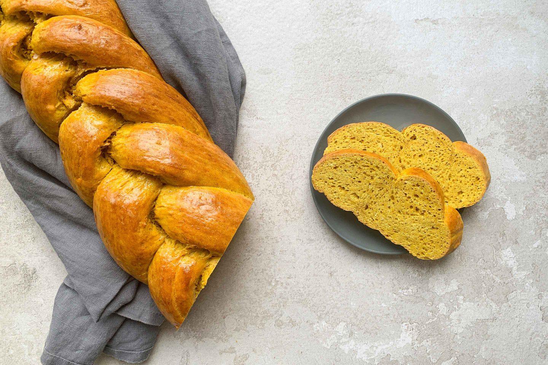 Braided Golden Milk Yeast Bread Website