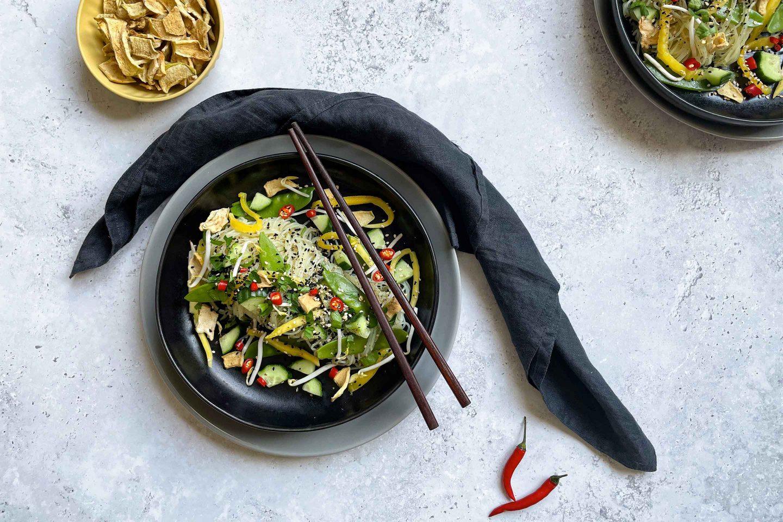 Glassnoodle Salad Website